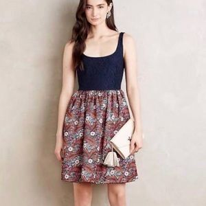 Anthro's Weston - Lace and Floral Dress - 2